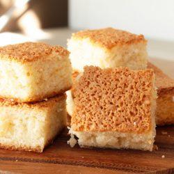 CAKE NOIX DE COCO ET VANILLE